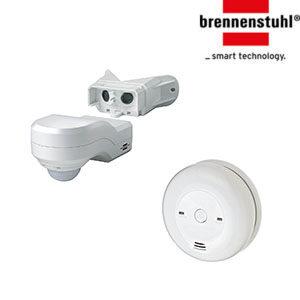 Датчики движения, пожарная безопасность дома Brennenstuhl