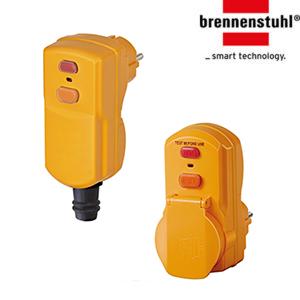 Вилки и розетки с УЗО Brennenstuhl BDI